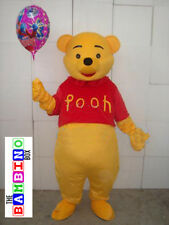 Winnie Bear Costume Plush - The Plush Macot Teddy Pooh Piglet Pig