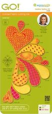AccuQuilt GO Fabric Cutter Cutting Die Heather Feather #2 by Sarah Vedeler 55088