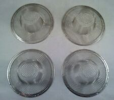 """New listing Set of 4 - 4-3/8"""" Stainless Steel Sink Mesh Strainer Kitchen Drain Sifter New"""