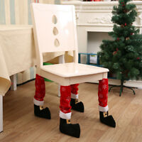 Table Leg Chair Foot Covers Furniture Legs Protective Covers Xmas Decoration