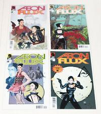 Aeon Flux 1,2,3,4 - Complete 2005 Series - Dark Horse Comics High Grade Lot
