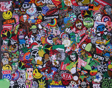 Embroidered Mix DIY RANDOM Lot 30 pcs Iron On Patch Sew Patches