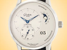 Glashutte Original PanoMaticLunar Silver Dial Automatic Stainless Steel Watch