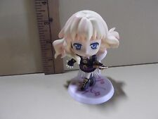 "#A121  Anime 3.5""in Sheryl Nome Dressed in Black Big Head Figure"