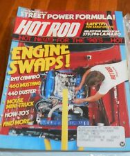 HOT ROD MAGAZINE May 1988-Engine swaps!/ 375/396 Camero