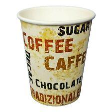 1000 Pappbecher 200ml Barista / Einweg Kaffee To-Go Coffee Becher 0,2l 8oz Eco
