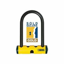ABUS Lock- U-MINI 401 YELLOW