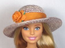 'WAIKIKI HONEY' One of a kind Hat only hand made for Barbie