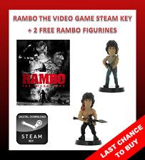 Rambo The Video Game PC STEAM KEY + BAKER TEAM DLC + 2 FREE RAMBO FIGURINES