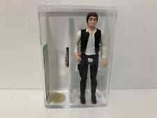 1977 Vintage Star Wars Han Solo Small Head AFA U85+ Gold Level
