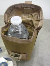 USMC COYOTE TAN TRIJICON TA86 PADDED POUCH CASE WATER BOTTLE CARRIER