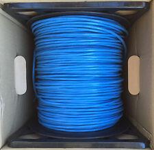 NEW Steren 300-796BL Category 6 Unshielded Plenum Cable 4 Pair UTP UL Blue 1000'