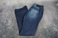 Vigoss Women's Distressed Jeans Size 9/10 Boot Cut Stretch
