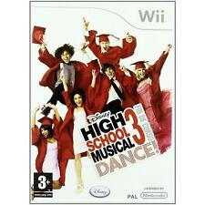 Nintendo Wii PAL version High School musical 3 Sr. Year Dance