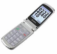 Olympia Style Plus silber Senioren Komfort Mobiltelefon Handy mit Großtasten