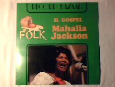 MAHALIA JACKSON Il gospel lp ITALY UNIQUE COME NUOVO LIKE NEW!!!