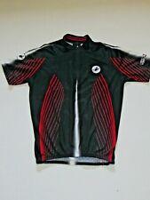 Castelli Cycling Jersey Black Red Scorpion Size Medium Women's