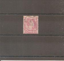 TIMBRE MONACO 1885 N°5 OBLITERE USED COTE 45 EUROS