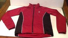 Descente Zip Up Track Running Soccer Women's Athletic Jacket Size Medium