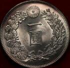 Uncirculated 1904 (Yr. 37) Japan 1 Yen Silver Coin