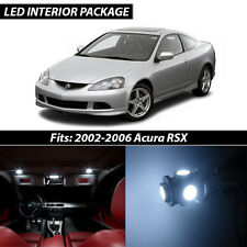 2002-2006 Acura RSX White Interior LED Lights Package Kit