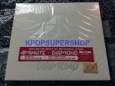 4Minute - Diamond CD DVD Limited Japan Album Korea Version 4 Minute Rare OOP