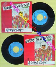 LP 45 7'' ELIZABETH GRANEC Christmas time all the time 1985 italy no cd mc dvd *