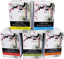 Organic Bamboo Tea, Uncle Lee's Tea, 18 tea bags with Hibiscus