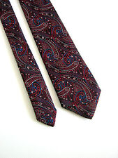 GIPP  NUOVA NEW PAISLEY MADE IN ITALY VINTAGE 80 ORIGINALE