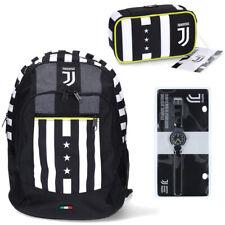 Juventus Kit Zaino + Astuccio con Matite Scuola 2020/21 Seven + Orologio Lowell