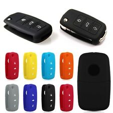 2017 Silicone Car Auto Remote Key Cover Case Protective For Volkswagen VW Series