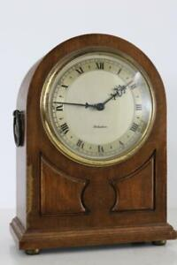 ROTHERHAM VINTAGE ENGLISH MANTEL CLOCK 8 day with platform escapement CASE RESTO