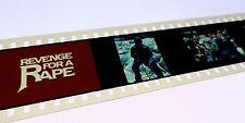 Revenge for a Rape press 35mm slides TV movie 1976 Mike Connors Deanna Lund