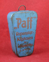 "GERMAN WW2 WEHRMACHT BICYCLE BIKE BOX for Repair Kit ""Paff"" DRGM TRUPPENFAHRRAD"