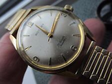 Vintage Rotary 9ct gold cased gents wrist watch