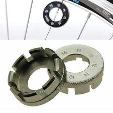 6 Way Spoke Nipple Key Bike Wheel Rim Spanner Gal. Wrench Bicycle Repair Tool