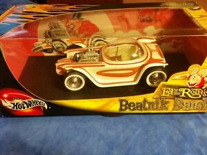 2001 1:18 Hot Wheels 100% Ed Roth Beatnik Bandit Limited Edition 1/10,000 new