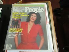 GREASE , Stockard Channing (Rizzo) ,  PEOPLE MAGAZINE , 7/16/79, TV's Waltons