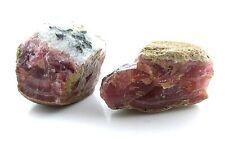 212.6 Gr Two Peruvian Translucent Gemmy Rhodocrosite Gemstone Cab Cabochon Rough