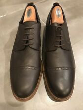 BRAND NEW JD Fisk Oxfords (Brogues), Dark Brown, Size 11, Soft Leather incl sole