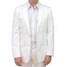 Completi e abiti sartoriali da uomo bianche