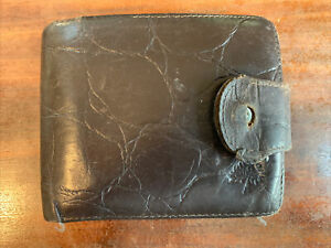 Mulberry Vintage Brown Congo Leather Wallet