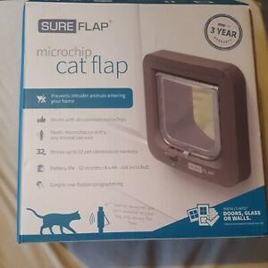SureFlap (SUR001BR) Microchip Cat Flap - Brown - Untested