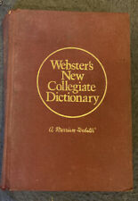 Websters New Collegiate Dictionary 1973
