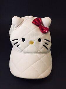 Hello Kitty Hat White