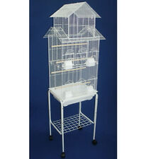 NEW Large Pagoda House lovebird parakeet cockatiel canary bird cage W/Stand 473
