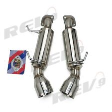 REV9 AXLE BACK STAINLESS STEEL EXHAUST KIT FOR INFINITI 08-13 G37 COUPE V36 RWD