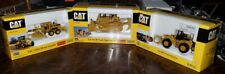 Norscot  1/50 Scale CAT D11 R, 980G Forest Machine, & 140 H Motor Grader - NEW