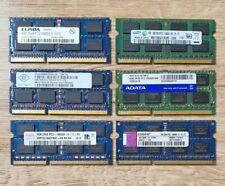 8GB 2 x 4GB DDR3 1333MHz PC3 10600 SO DIMM Notebook RAM 1,5V 2Rx8 Markenspeicher