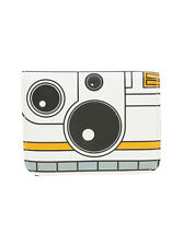 Star Wars Force Awakens BB-8 Droid Square Zipper Wallet Disney Loungefly NWT